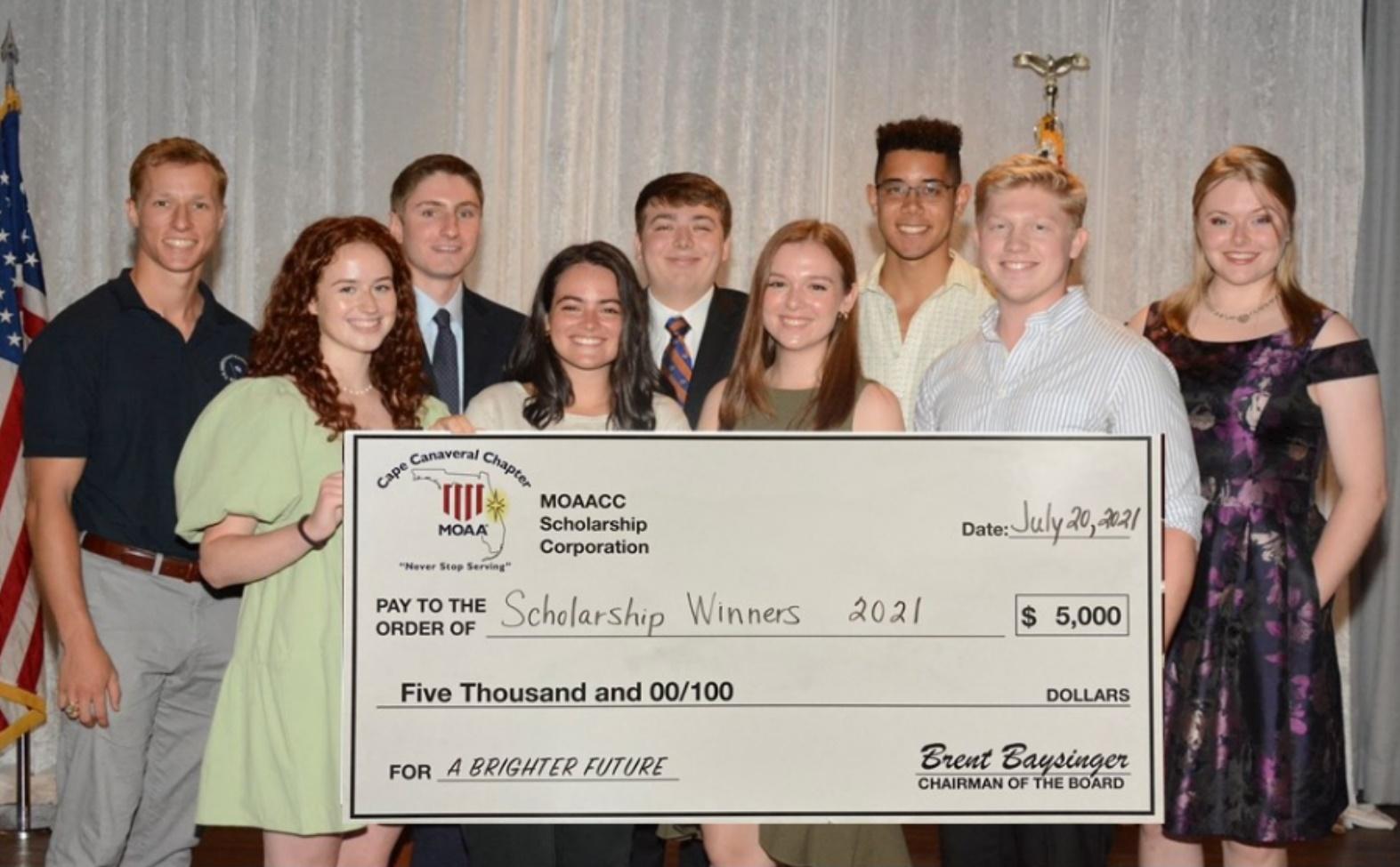 Scholarship Awardees 2021